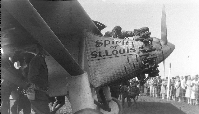 the log of the spirit of st louis charles lindbergh